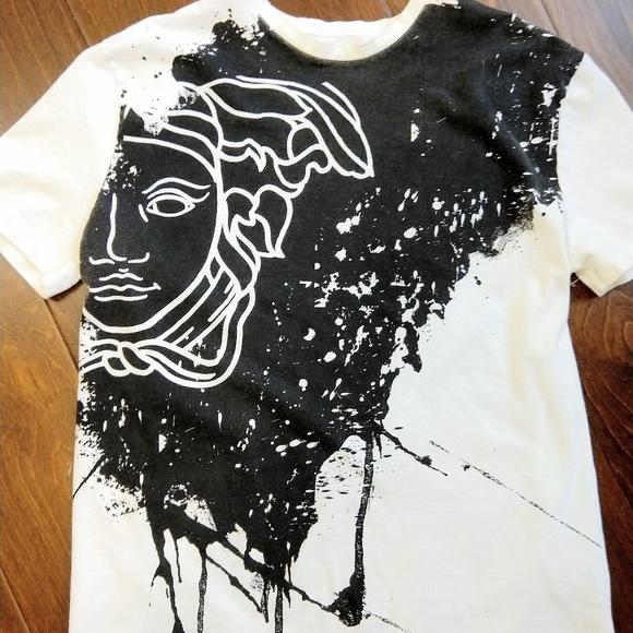 7fc2153c Versace Shirts | Collection Medusa Paint Splatter Tshirt S | Poshmark